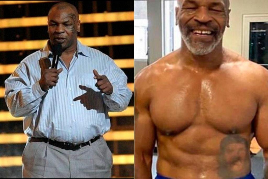 El increíble cambio físico de Mike Tyson, que prepara su vuelta a los cuadriláteros - Deportes