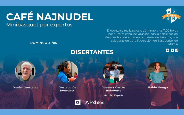 Café Najnudel: Minibasquet por expertos