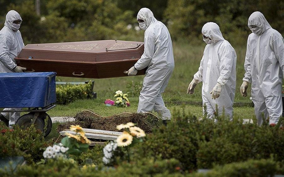 Brasil vuelve a tener más de 1.000 muertos en un día por coronavirus y supera en cantidad a España
