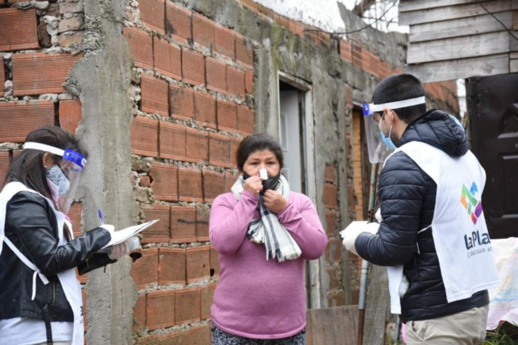 Más de 4.000 controles a vecinos en los barrios populares platenses