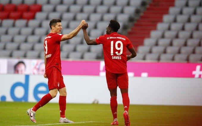 El Bayern goleó al Dusseldorf y se acerca a un nuevo título