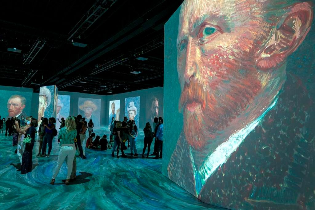 La experiencia de sumergirse en el mundo de Van Gogh