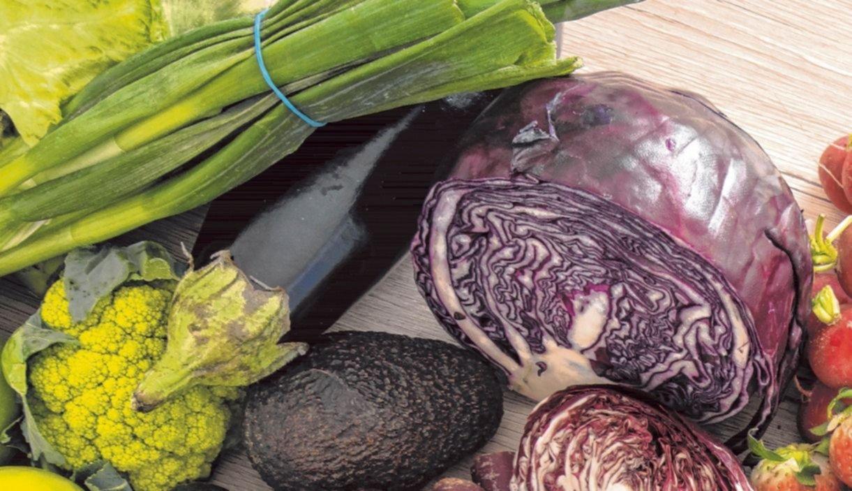 Mucha verdura y poca carne: qué aporta la dieta alcalina