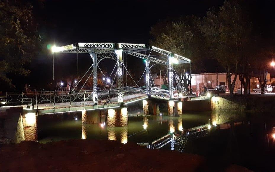 Terminó la puesta en valor del Puente Holandés de Ensenada