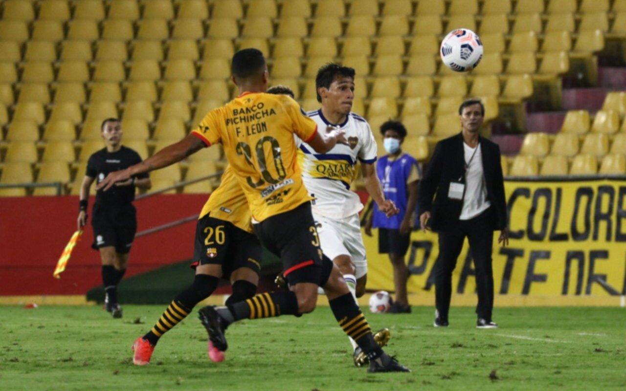 Tropiezo de Boca en Ecuador: perdió 1-0 ante Barcelona por la Copa Libertadores