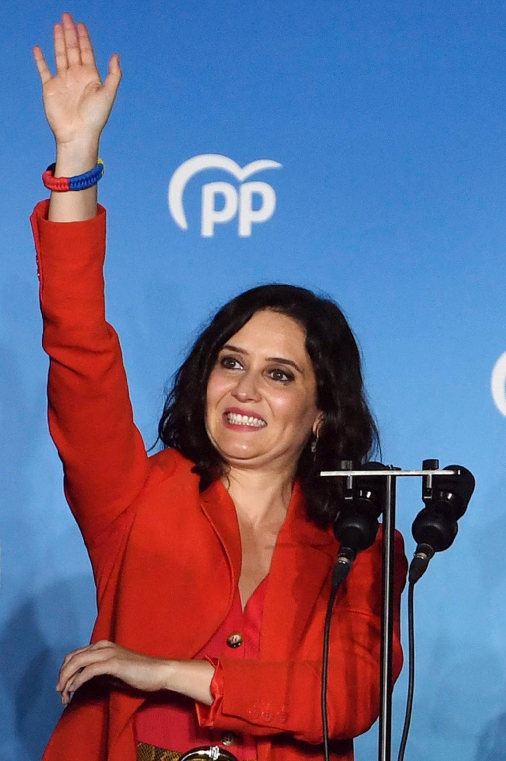 El Partido Popular logró una victoria contundente en los comicios regionales de Madrid