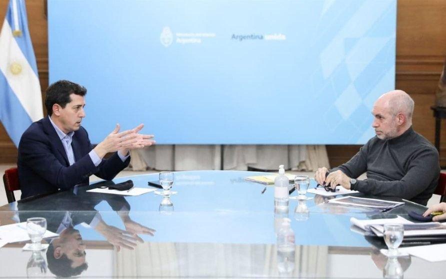 El Gobierno convocó a Larreta para negociar el traspaso de fondos para la Policía