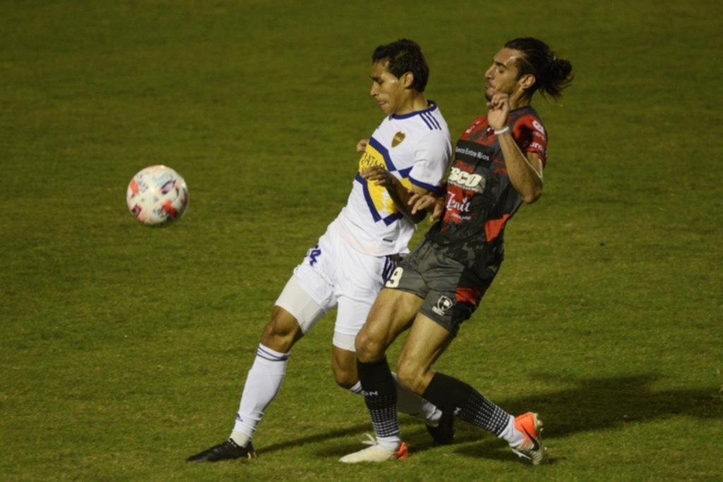 Boca perdió con Patronato en Paraná, que le ganó por primera vez en la historia