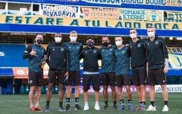 La Conmebol multó a un club brasileño por visitar la Bombonera