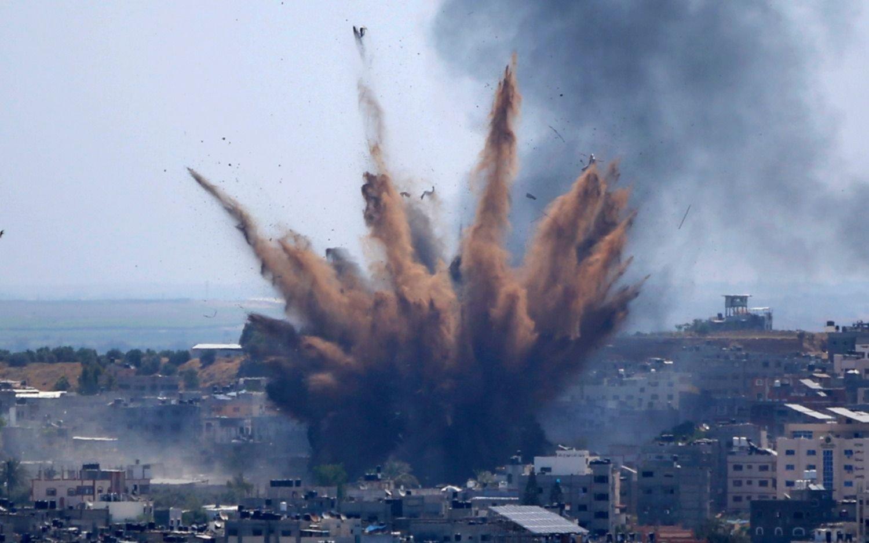 Hamas asegura que lanzó un potente cohete contra el segundo aeropuerto de Israel