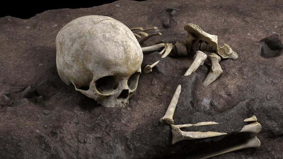 Costumbre ancestral: descubren el entierro humano intencional más antiguo de África