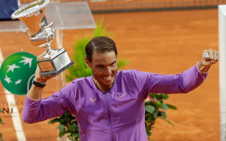 El rey del polvo de ladrillo: Nadal le ganó a Djokovic y se quedó con el Masters de Roma