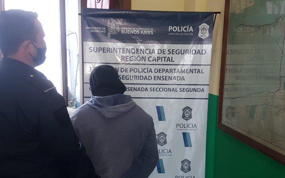 Punta Lara: estaba acusado de violar a su prima de 14 años y lo encontraron durmiendo en un lavadero de autos