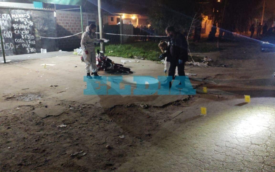 Horror: asesinaron a balazos a un joven de 23 años esta tarde en Melchor Romero
