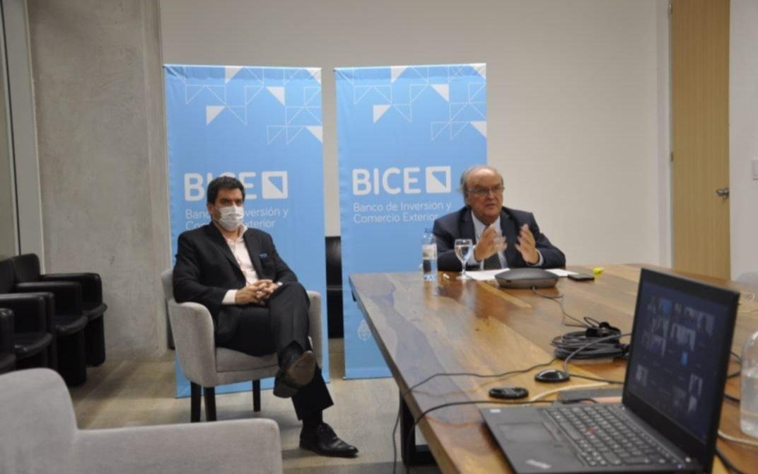 Reunión del BICE en Junín para impulsar inversiones locales