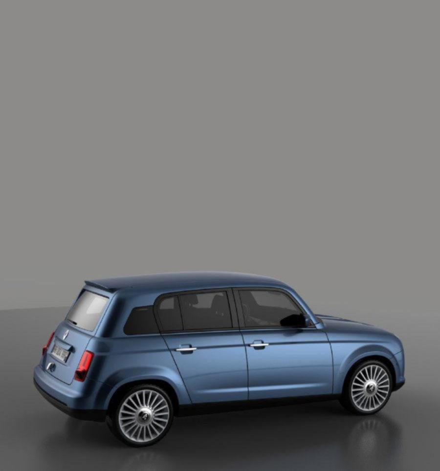 El Renault 4 podría volver con motor eléctrico