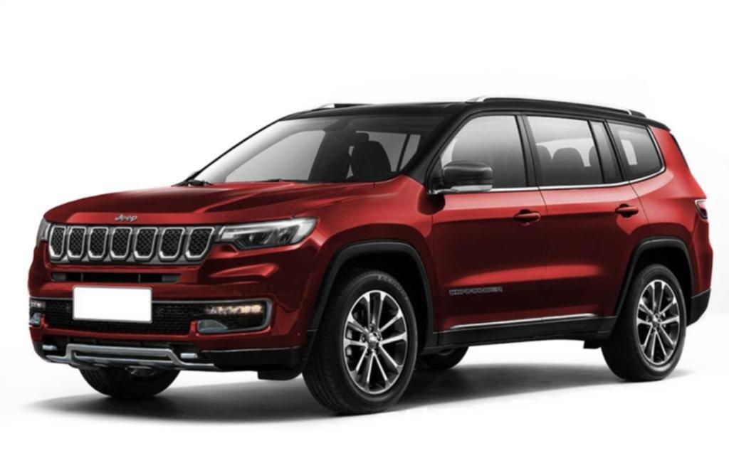 Jeep anticipa el nuevo SUV de 7 asientos