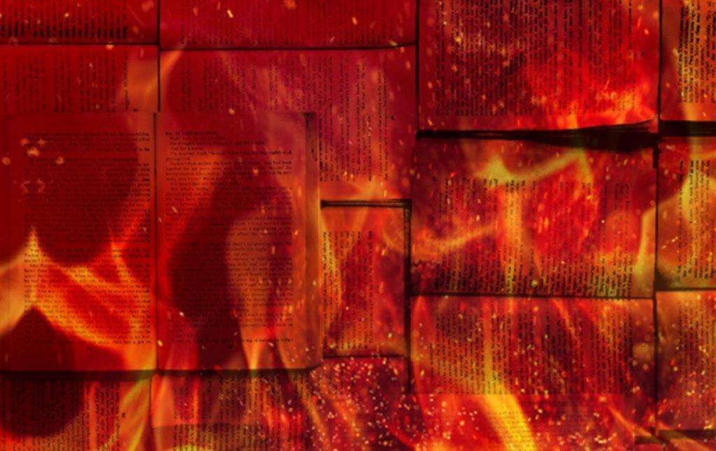 Malas relaciones entre la literatura y el fuego
