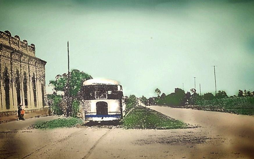 Pequeño transporte del pasado
