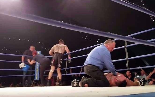 Falleció el boxeador que había sufrido un nocaut tremendo el viernes