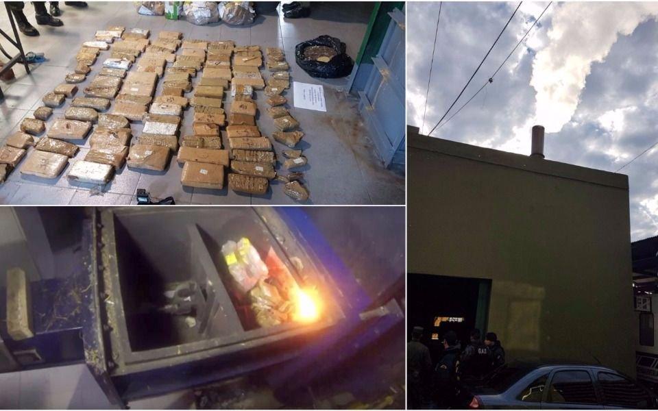 VIDEO: Así incineraron 370 kilos de marihuana