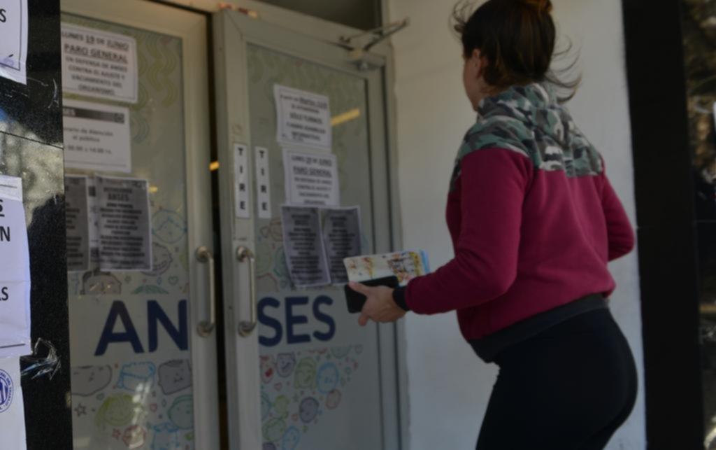Se sintió en la Ciudad el paro nacional en las sedes de ANSeS