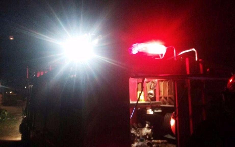 Dos niños hospitalizados tras incendiarse una casa en Berisso