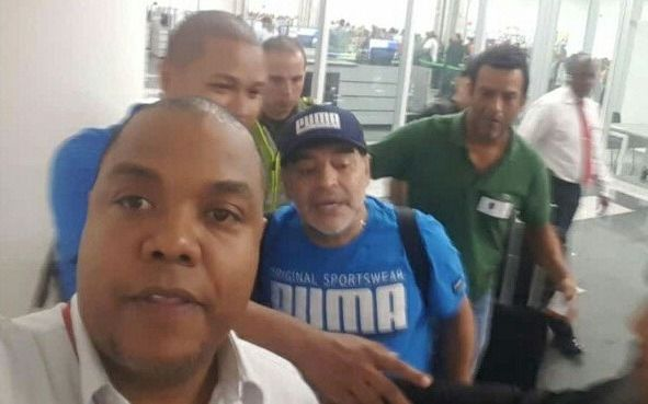 Internaron a Diego Maradona