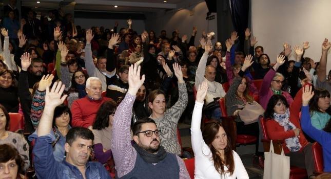 Paro y movilización, convocada por SUTEBA y CTA