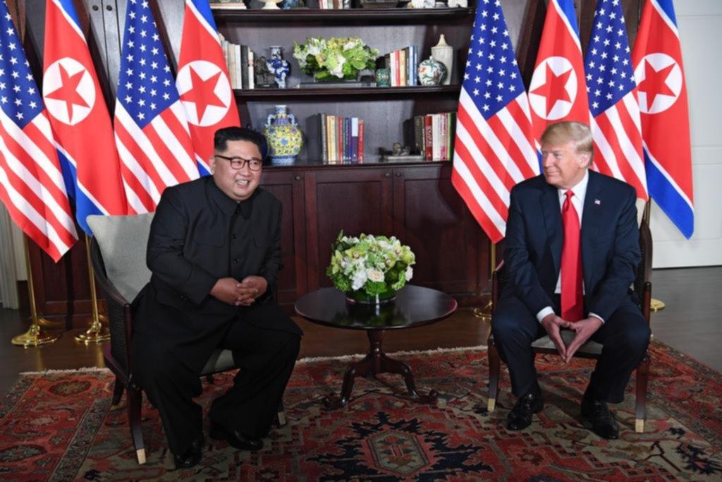 Trump y Kim se encontraron para abordar el tema nuclear