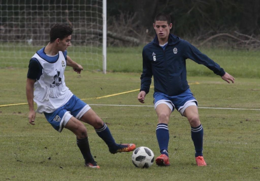 Pedro Troglio ya dio a conocer la lista de juveniles que subirá a trabajar con Primera