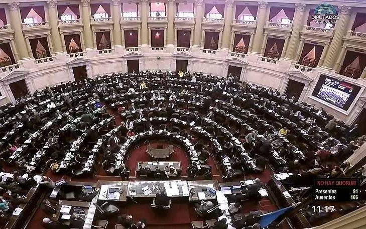 Diputados argentinos dieron media sanción a la ley de despenalización — Aborto