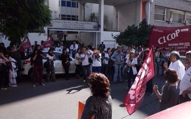 Médicos bonaerenses iniciaron un paro de 48 horas por reclamo salarial