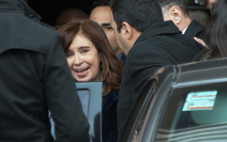 Cristina Kirchner fue a Tribunales y no llegó a un acuerdo con el periodista Feinmann