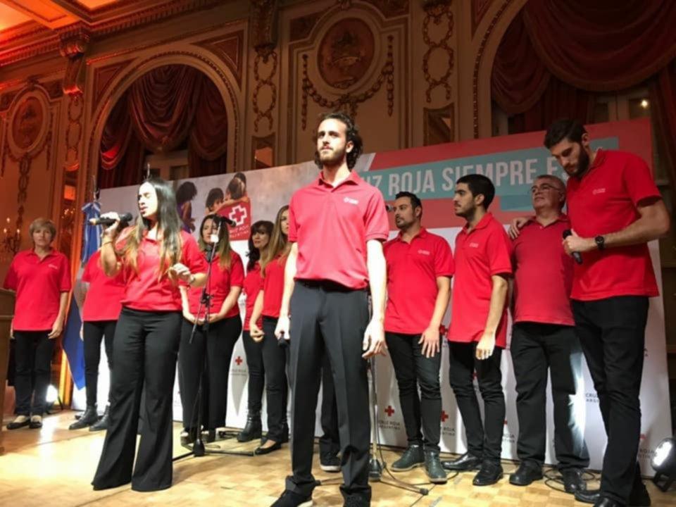 El Ensamble de la Cruz Roja celebra sus dos años de vida