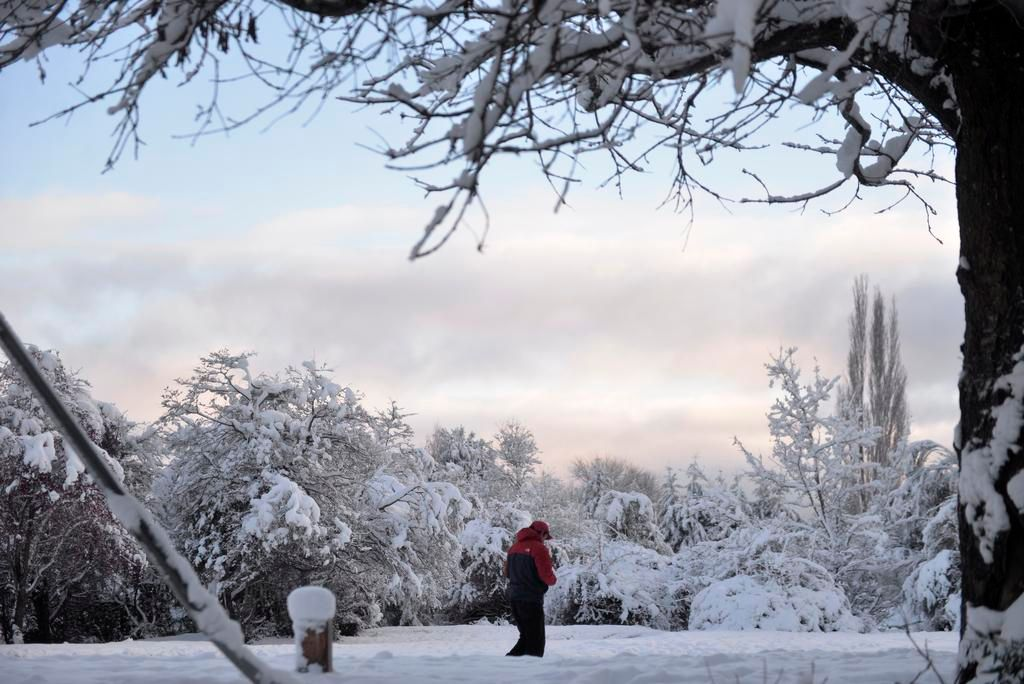 La ola polar causa estragos en el Sur y se acerca hasta la Región