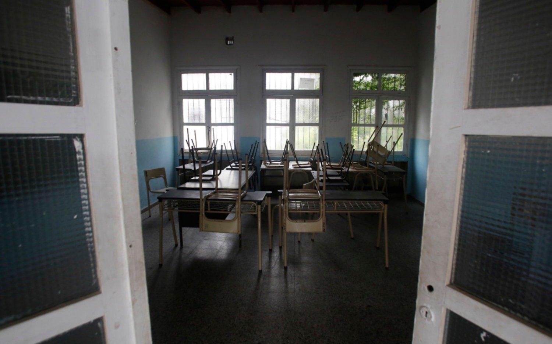 El paro docente repercute con fuerza  en los colegios de la Ciudad