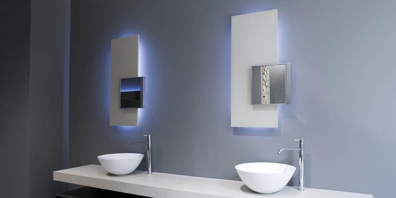 Espejos imprescindibles en la decoraci n de los ba os contempor neos hogar - Espejos biselados para banos ...