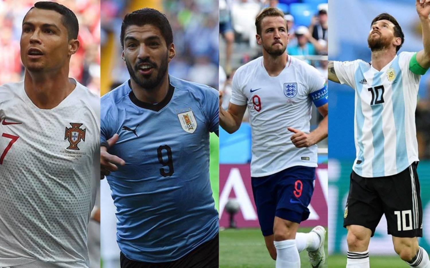 CR7 también se despide de Rusia; Uruguay gana 2-1 a Portugal