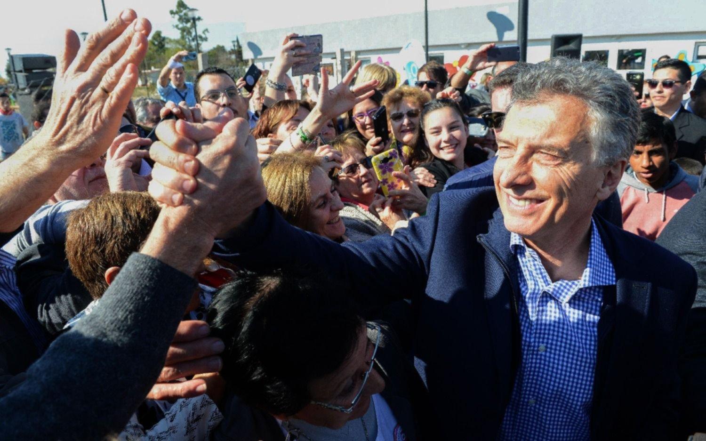 El presidente Macri en Basavilbaso: