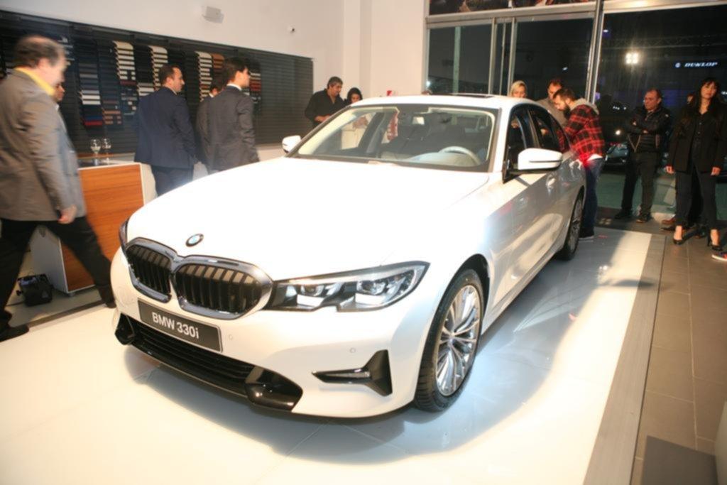 Llegó a La Plata la séptima generación del BMW Serie 3