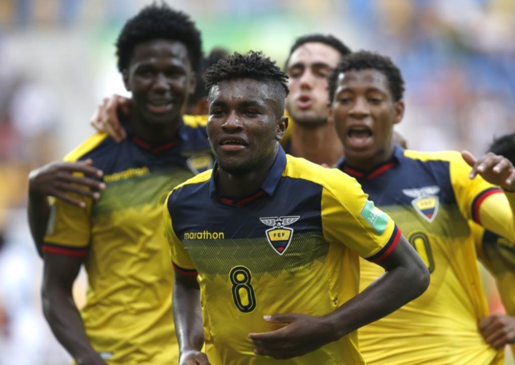 Ecuador y Corea del Sur pasaron a la semifinal