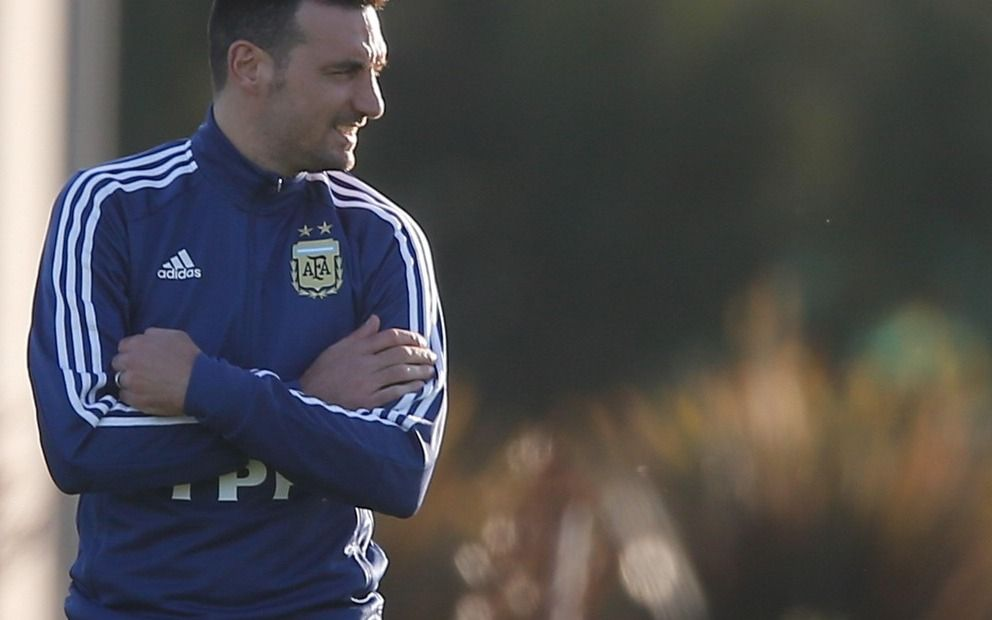 "El ""récord"" de Lionel Scaloni entre los técnicos de la Copa América"