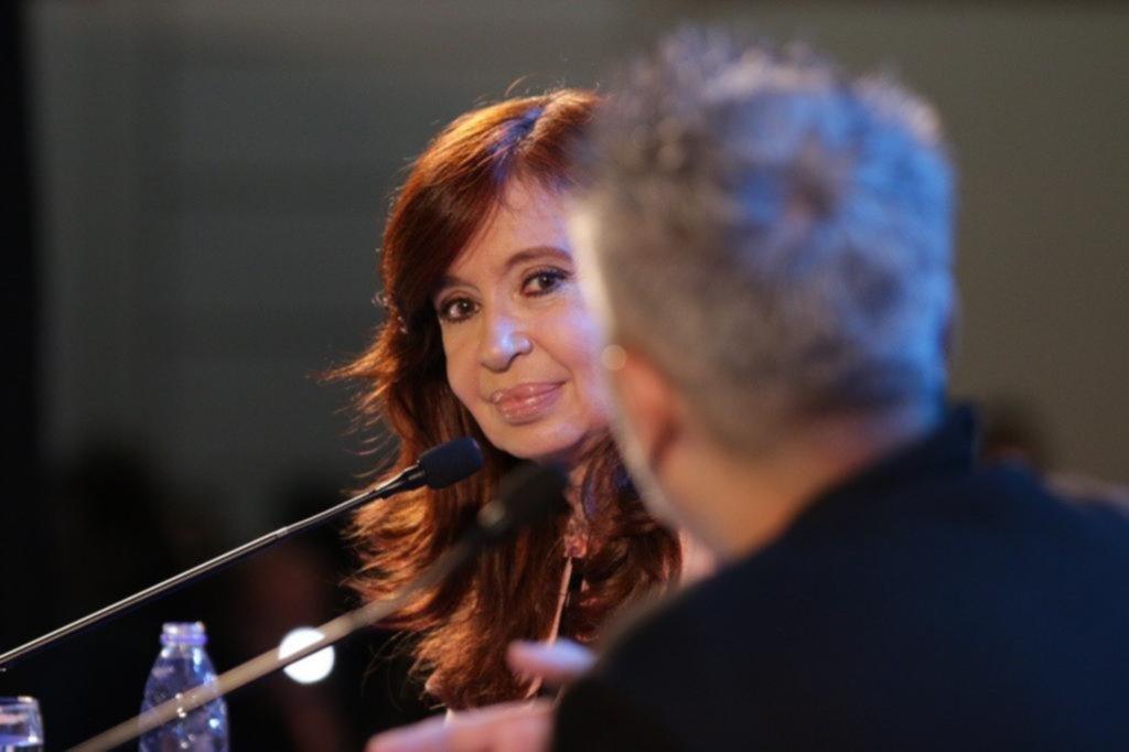 Cristina apareció pero no habló de las candidaturas