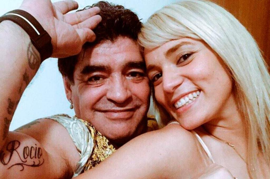 Rocío Oliva y una hermana de Maradona, a las piñas