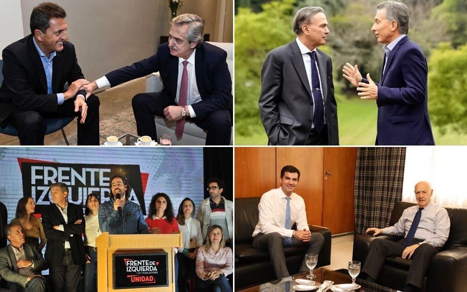 Uno por uno, todos los frentes y alianzas que competirán a nivel nacional en las PASO