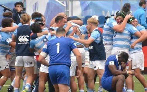 Argentina superó a Francia y se instaló en semifinales del Mundial Sub 20 de rugby