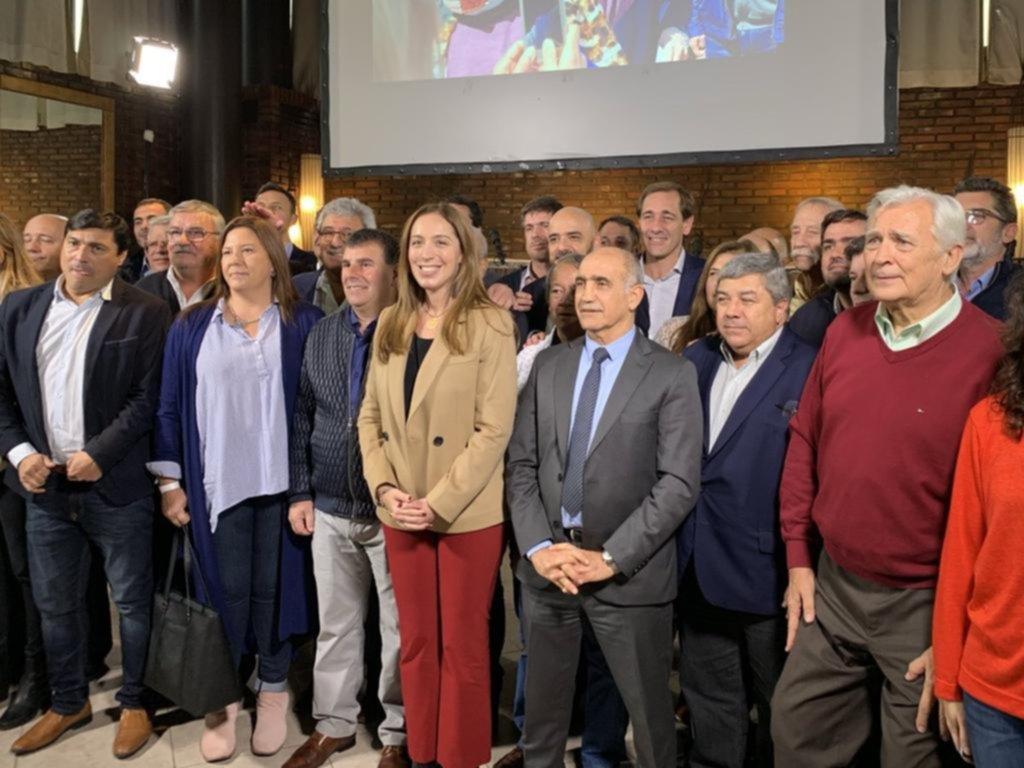Presentaron el frente de partidos con el que Vidal buscará su reelección