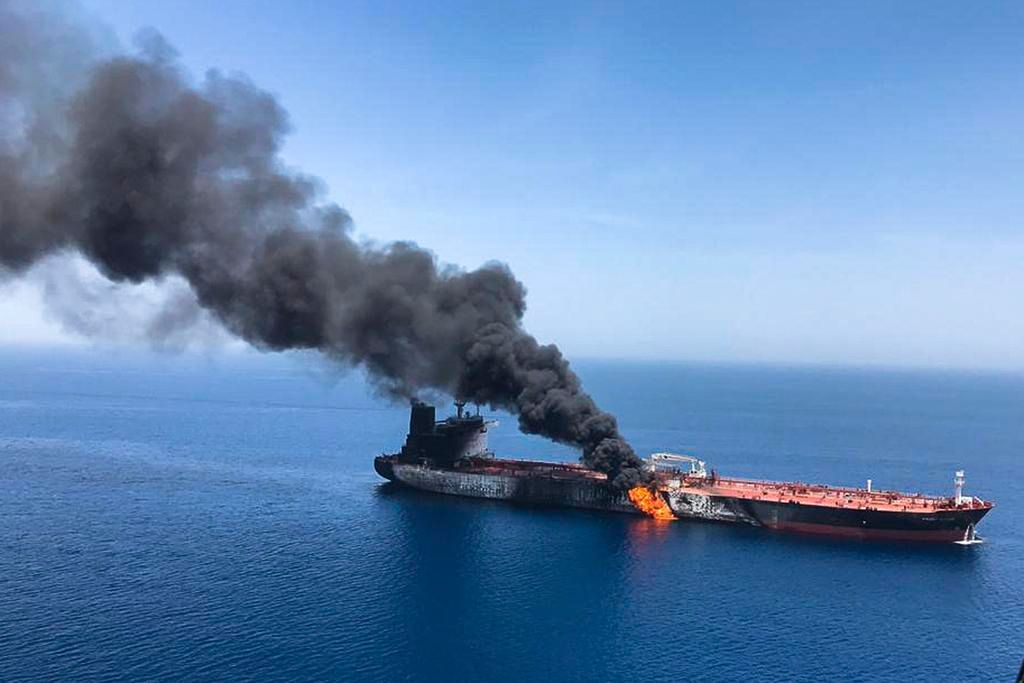 Ataques a buques en el Golfo disparan el precio del petróleo