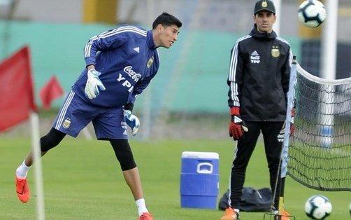 Finalmente, por lesión, Andrada fue desafectado de la Selección y lo reemplazará Musso